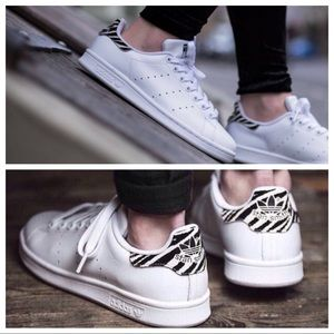 d141bde16cfe adidas Shoes - NWT Stan Smith Adidas Zebra print shoes low top